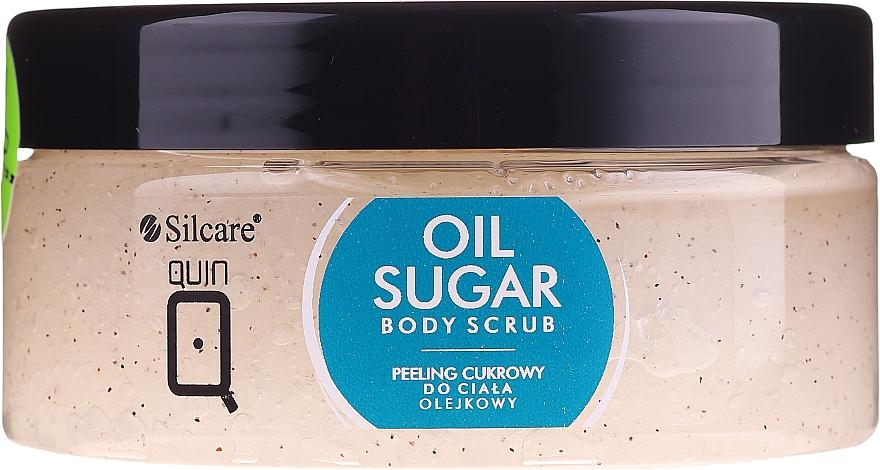 Gommage sucré aux huiles pour corps - Silcare Quin Sugar Body Peel Oil