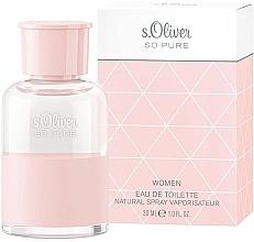 Parfums et Produits cosmétiques S. Oliver So Pure Women - Eau de Toilette