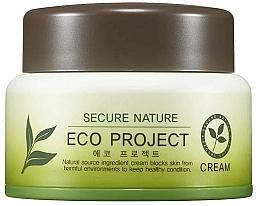 Parfums et Produits cosmétiques Crème au thé vert et aloe vera pour visage - Secure Nature Eco Project Cream