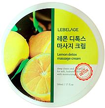 Parfums et Produits cosmétiques Crème de massage au citron pour corps - Lebelage Lemon Detox Massage Cream