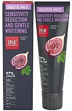 Parfums et Produits cosmétiques Dentifrice - SPLAT Professional Bio Sensitive White Sensitivity Reduction & Gentle Whitening