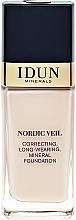 Parfums et Produits cosmétiques Fond de teint - Idun Minerals Nordic Veil Liquid Mineral Foundation