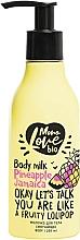 Parfums et Produits cosmétiques Lait à l'extrait d'ananas pour corps - MonoLove Bio Pineapple Jamaica Body Milk
