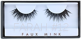 Parfums et Produits cosmétiques Faux-cils №12 - Huda Beauty Faux Mink Lash 12