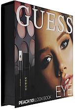 Parfums et Produits cosmétiques Coffret cadeau - Guess Beauty Peach 101 Eye Lookbook (mascara/4ml + eyeliner/0.5g + 12xeye/sh/1.96g)