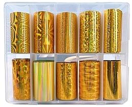 Parfums et Produits cosmétiques Feuilles de transfert pour ongles - Deni Carte Gold Holo