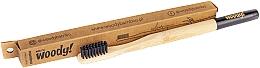 Parfums et Produits cosmétiques Brosse à dents en bambou souple, noir - WoodyBamboo Bamboo Toothbrush