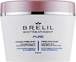 Parfums et Produits cosmétiques Exfoliant de la boue détoxifiant pour cuir chevelu et cheveux - Brelil Bio Traitement Pure Peeling Mud