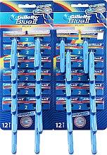 Parfums et Produits cosmétiques Lot de 24 rasoirs jetables - Gillette Blue II Plus
