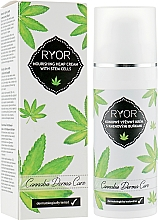 Parfums et Produits cosmétiques Crème aux cellules souches de chanvre pour visage - Ryor Cannabis Derma Care Nourishing Hemp Cream With Stem Cells