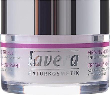 Crème de nuit raffermissante pour visage - Lavera Straffende Nachtpflege Green Lift Complex — Photo N2