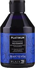 Parfums et Produits cosmétiques Shampooing neutralisant les tons oranges et cuivrés à l'extrait d'amande bio - Black Professional Line Platinum No Orange Shampoo With Organic Almond Extract