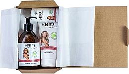 Parfums et Produits cosmétiques BeBio Pomegranate And Goji Berries - Set (gel douche/400ml + lotion pour le corps /200ml + déodorant roll-on/50ml)