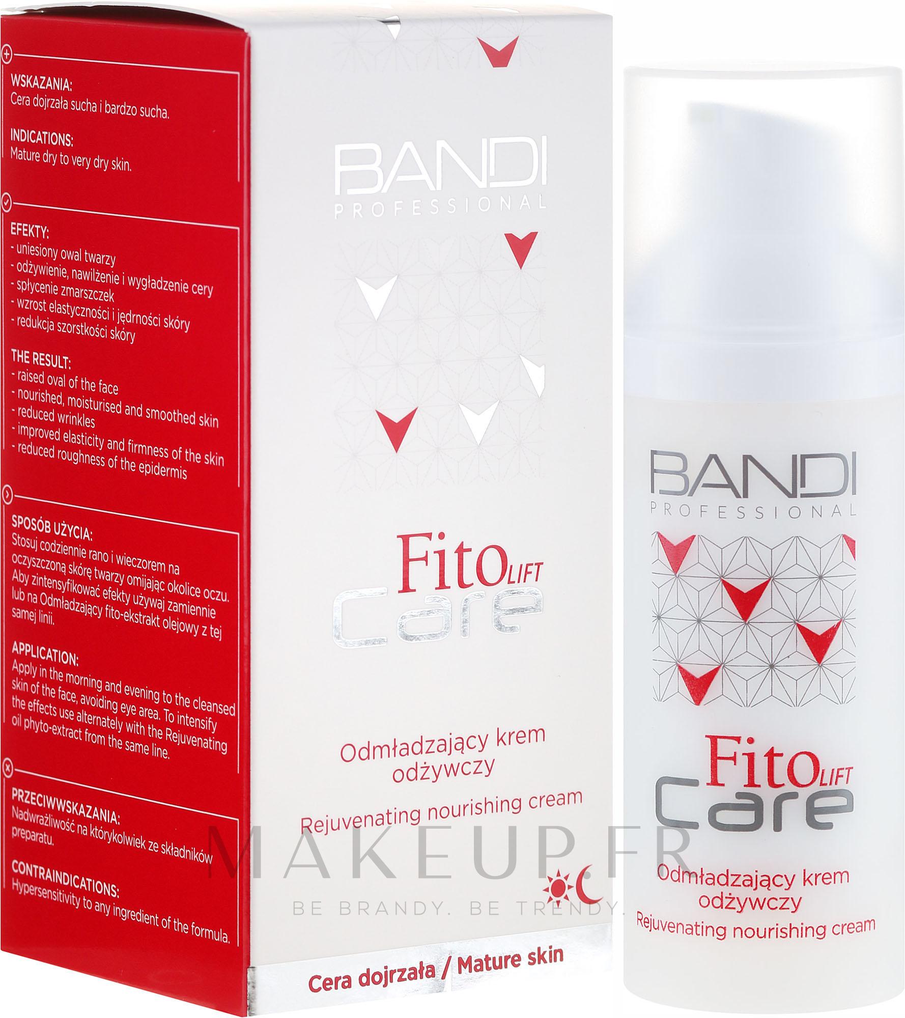 Crème de jour et nuit à l'huile d'amande douce - Bandi Professional Fito Lift Care Rejuvenating Nourishing Cream — Photo 50 ml