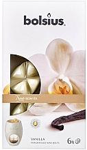 Parfums et Produits cosmétiques Fondants de cire parfumée, Vanille - Bolsius True Scents Vanilla
