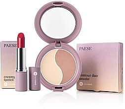 Parfums et Produits cosmétiques Coffret cadeau - Paese Nanorevit (f/powder/4.5g + lipstick/4/3g)
