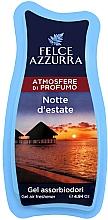 Parfums et Produits cosmétiques Désodorisant en gel - Felce Azzurra Gel Air Freshener Notte d'estate