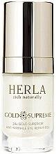 Parfums et Produits cosmétiques Gel super anti-ride liftant aux particules d'or pur 24k contour des yeux - Herla Gold Supreme 24K Gold Superior Anti-Wrinkle Eye Repair Gel