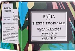 Parfums et Produits cosmétiques Gommage à l'extrait de raisin pour corps - Baija Sieste Tropicale Body Scrub