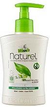 Parfums et Produits cosmétiques Savon liquide à l'extrait de thé vert, bouleau et aloès - Winni's Naturel Liquid Hand Soap Mani The Verde