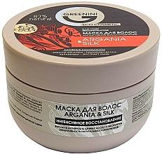 Parfums et Produits cosmétiques Masque à l'huile d'argan pour cheveux - Greenini Argania&Silk
