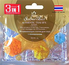 Parfums et Produits cosmétiques Patchs hydratants au collagène pour le contour des yeux - Sabai Thai Collagen Eye Patch