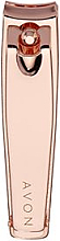 Parfums et Produits cosmétiques Coupe-ongles, or rose - Avon Rose Gold Nail Clippers