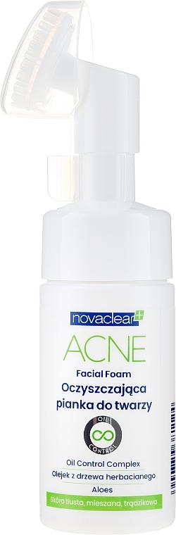 Mousse nettoyante - Novaclear Acne Facial Foam