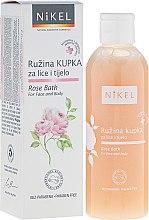Parfums et Produits cosmétiques Mousse de bain à la rose pour visage et corps - Nikel Rose Bath