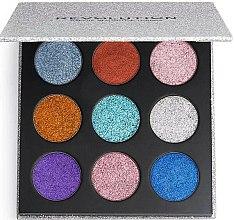 Parfums et Produits cosmétiques Palette maquillage yeux - Makeup Revolution Pressed Glitter Palette Illusion