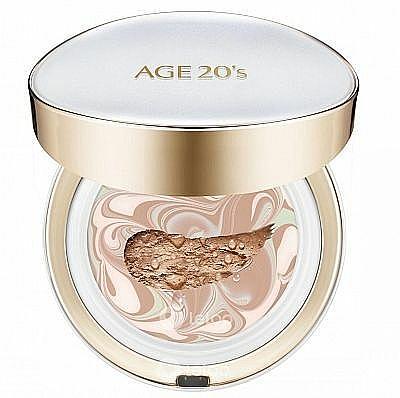Crème-poudre avec recharge pour visage - AGE 20's Signature Pact Long Stay SPF50+/PA+++