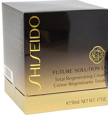 Crème de nuit à l'extrait de grande pimprenelle - Shiseido Future Solution LX Total Regenerating Cream — Photo N3