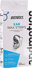 Parfums et Produits cosmétiques Bandes de cire pour épilation des oreilles - Andmetics Ear Wax Strips Men