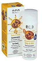 Parfums et Produits cosmétiques Crème solaire à l'argousier et grenade pour bébés et enfants SPF 45 - Eco Cosmetics Baby Sun Cream SPF 50