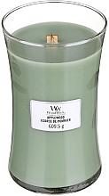 Parfums et Produits cosmétiques Bougie parfumée avec mèche en bois, Écorce de pommier - WoodWick Hourglass Candle Applewood