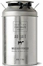 Parfums et Produits cosmétiques Poudre de bain au lait - Scottish Fine Soaps Au Lait Milk Bath Powder
