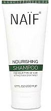 Parfums et Produits cosmétiques Shampooing à l'extrait de graines de lin - Naif Nourishing Shampoo