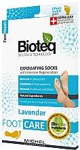 Parfums et Produits cosmétiques Chaussettes exfoliantes pour les pieds - Bioteq Exfoliating Socks Lavender