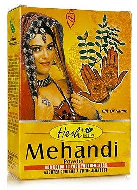 Henné en poudre pour cheveux - Hesh Mehandi Powder