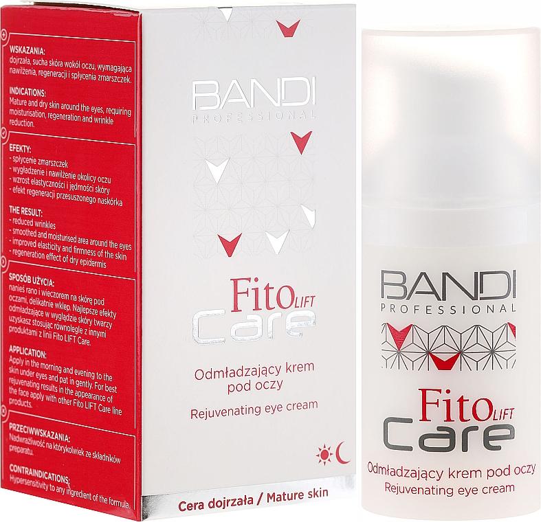 Crème à la glycérine à pour contour des yeux - Bandi Professional Fito Lift Care Rejuvenating Eye Cream — Photo N1