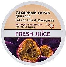 Parfums et Produits cosmétiques Gommage à la grenadille et noix de macadamia pour corps - Fresh Juice Passion Fruit & Macadamia