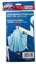 Parfums et Produits cosmétiques Cape de coiffure, bleu - Ronney Professional Cutting Cape