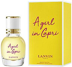 Parfums et Produits cosmétiques Lanvin A Girl in Capri - Eau de toilette (mini)