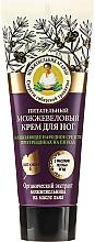 Parfums et Produits cosmétiques Crème au genièvre et vitamine E pour pieds - Les recettes de babouchka Agafia Juniper Nourishing Foot Cream