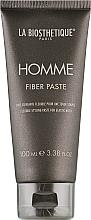 Parfums et Produits cosmétiques Pâte de caramel pour cheveux, Satin Shine - La Biosthetique Homme Fiber Paste