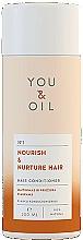 Parfums et Produits cosmétiques Après-shampooing aux protéines de blé - You & Oil Nourish & Nuture