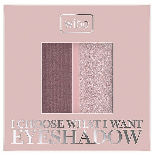 Duo fards à paupières - Wibo I Choose What I Want Duo Eyeshadow