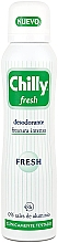 Parfums et Produits cosmétiques Déodorant spray - Chilly Fresh Deodorant Spray
