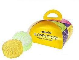 Parfums et Produits cosmétiques Set cadeau - Cafe Mimi Flower Story (savon/80g + boule de bain/120g)
