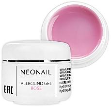 Parfums et Produits cosmétiques Gel UV/LED monophase pour ongles, rose - NeoNail Professional Allround Gel Rose